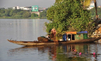 Cycling Along The Perfume River in Hue